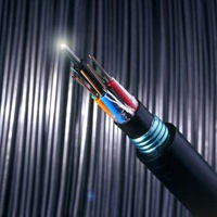 Fiber optic cable strength member wire